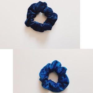 2 Pack Silky Velvet Scrunchies